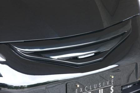 エムズスピード フィット GE6 GE7 GE8 GE9 前期 フロントグリル 未塗装 5371-4112 スマートライン ゼウス