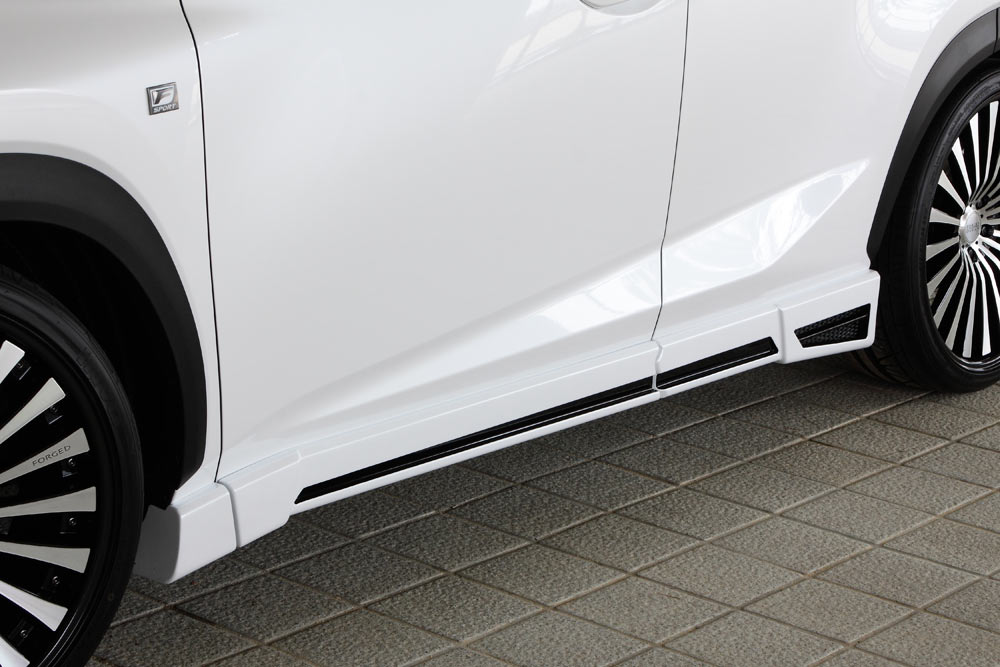 エムズスピード レクサス AGZ1# サイドステップ 2色塗り分け塗装 2361-2111 ラヴライン ゼウス