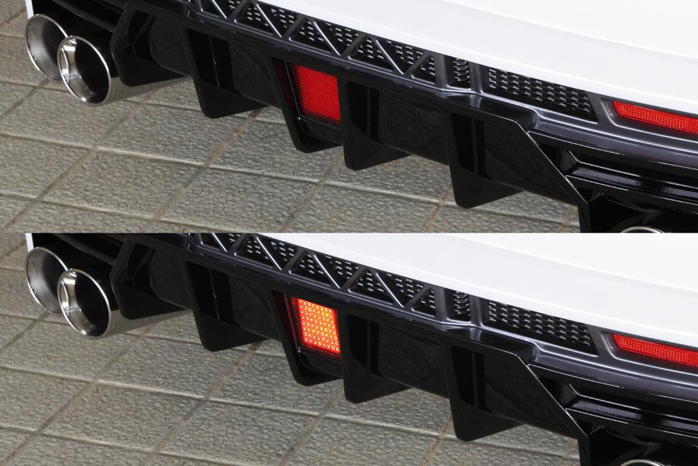エムズスピード レクサス AGZ1# LEDバックフォグランプ 0041-0002 ラヴライン ゼウス
