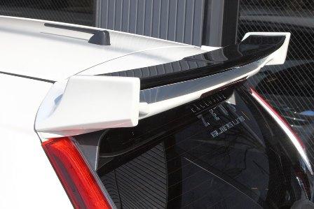 エムズスピード フィット GP5 GK3.5 リアウィング 未塗装 1372-5112 グラマラスライン ゼウス