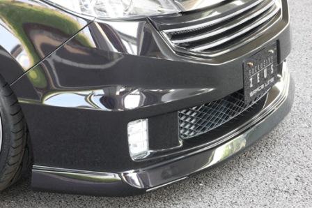 エムズスピード ステップワゴンスパーダ RG1 2 後期 フロントハーフスポイラー 未塗装 3121-1231 グレースライン ゼウス