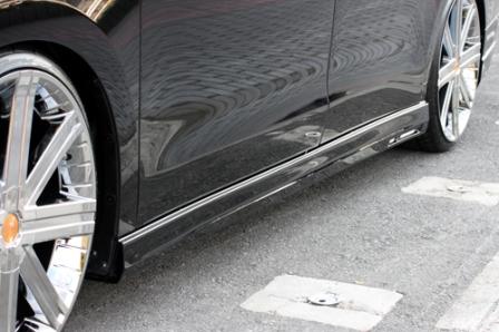 エムズスピード ステップワゴン RK1 2 前期 サイドステップ 塗装済 3122-2142 グレースライン ゼウス