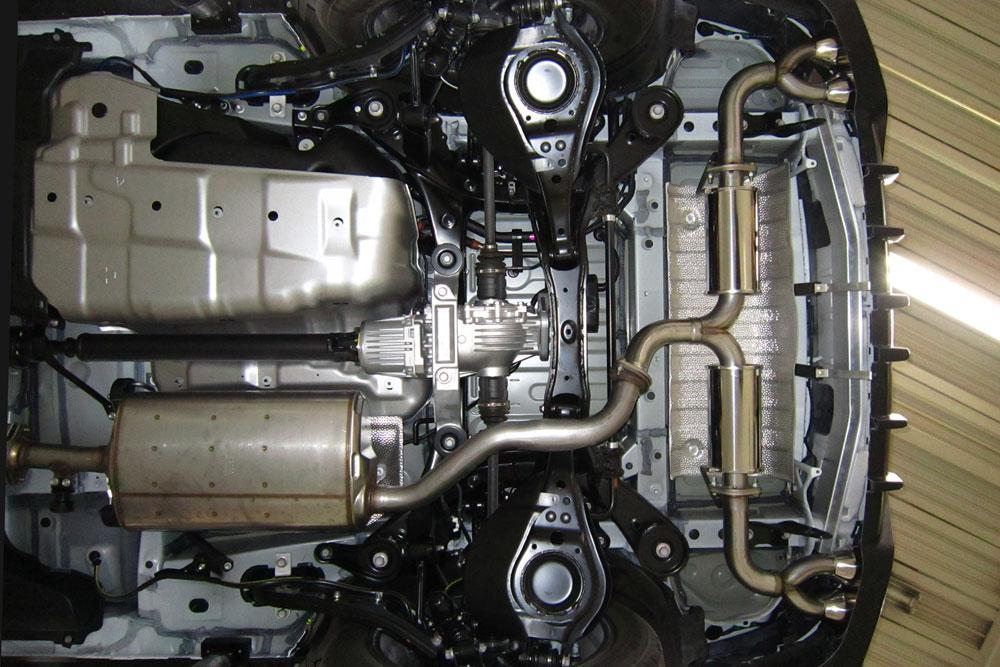 エムズスピード レクサス DAA-GYL25W/DBA-AGL25W エキゾーストシステム 2332-0145(MZ70)/2332-0245(MZ71) ラヴライン ゼウス