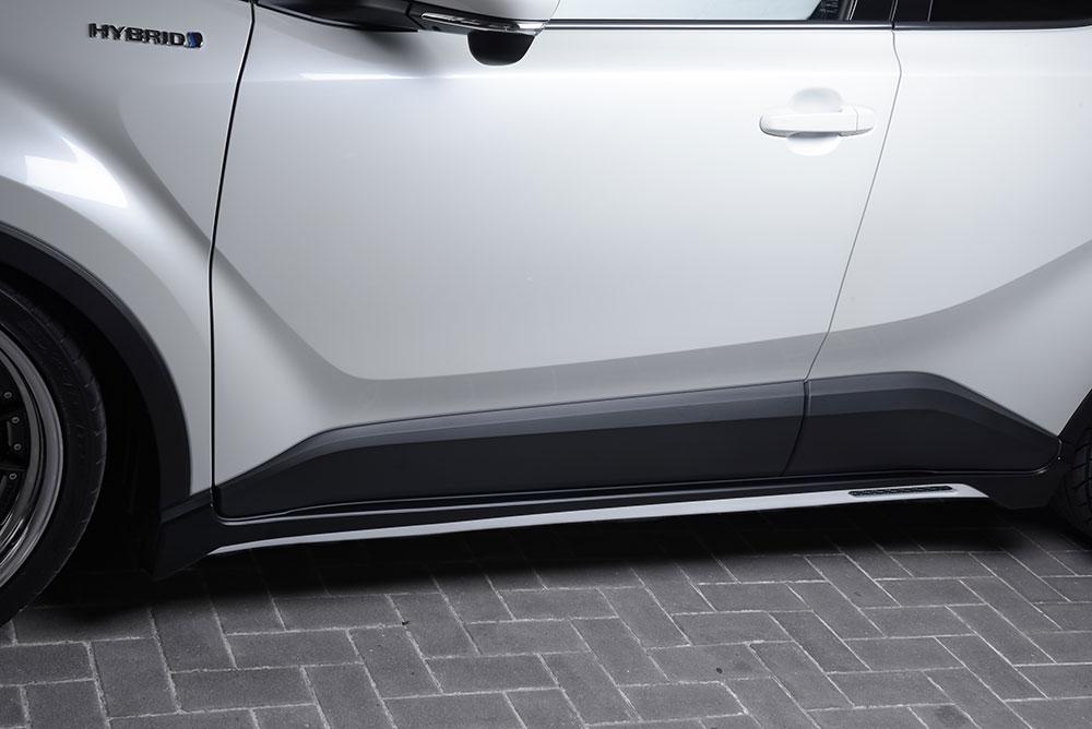 エムズスピード C-HR ZYX10 NGX50 サイドステップ 単色 塗装済 2391-2111 ラヴライン ゼウス