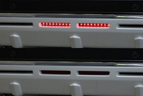 エムズスピード エクストレイル T32 後期 LEDバックフォグランプ 0041-0011 ラヴライン ゼウス