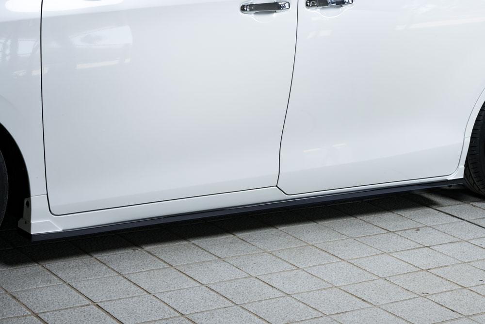 エムズスピード エスクァイア エスクァイアハイブリッド ZRR80G ZWR80G 後期 サイドステップ 2色塗り分け塗装済 3053-2212-222 グレースライン ゼウス