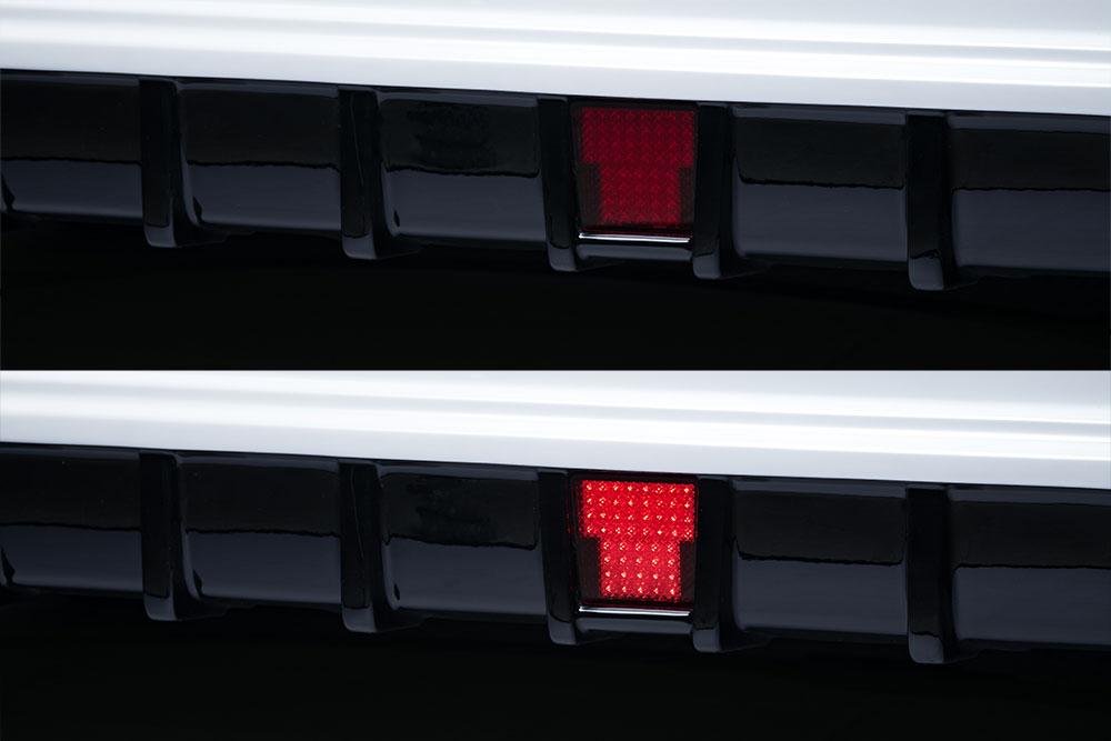 エムズスピード エスクァイア エスクァイアハイブリッド ZRR80G ZWR80G 後期 LEDバックフォグランプ Cキット 0041-0003 グレースライン ゼウス