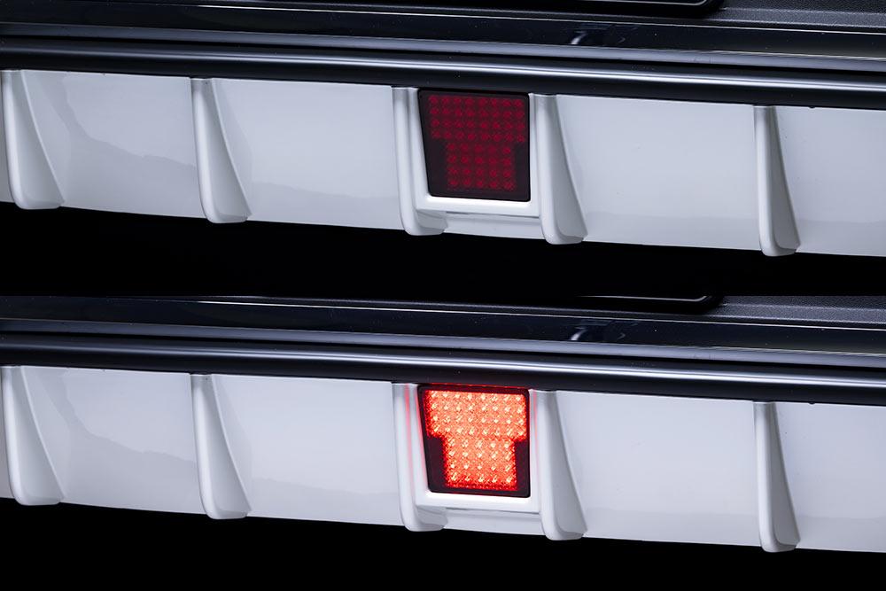 エムズスピード メルセデス ベンツ C253 LEDバックフォグランプ Cキット 未塗装 0041-0003 プルシャンブルー ゼウス