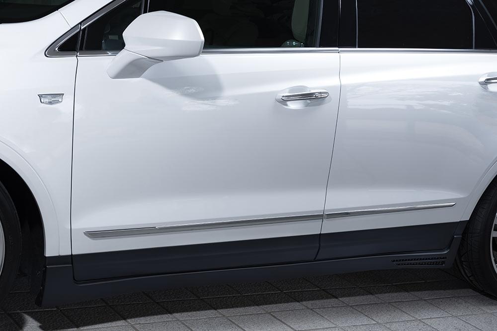 エムズスピード キャデラック C1UL サイドステップ 未塗装 2252-2111 ラヴライン ゼウス