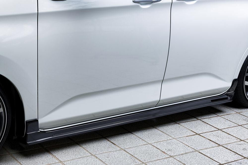エムズスピード ルーミー M900A サイドステップ 未塗装 3221-2113 グレースライン ゼウス