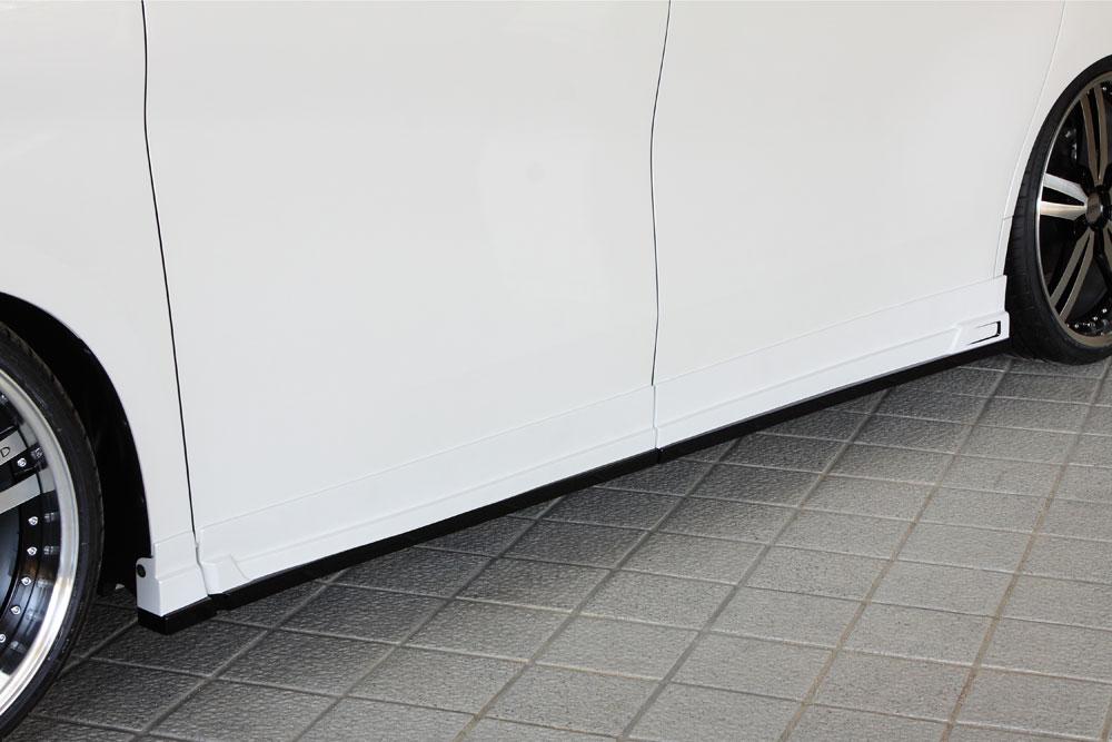 エムズスピード アルファード アルファードハイブリッド 30系 GGH/AGH/AYH 後期 サイドステップ 塗り分け塗装済み 3042-2111-222 グレースライン ゼウス