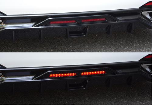 エムズスピード レクサス VXFA50 VXFA55 LEDバックフォグランプ Gキット 0041-0011 プルシャンブルー ゼウス