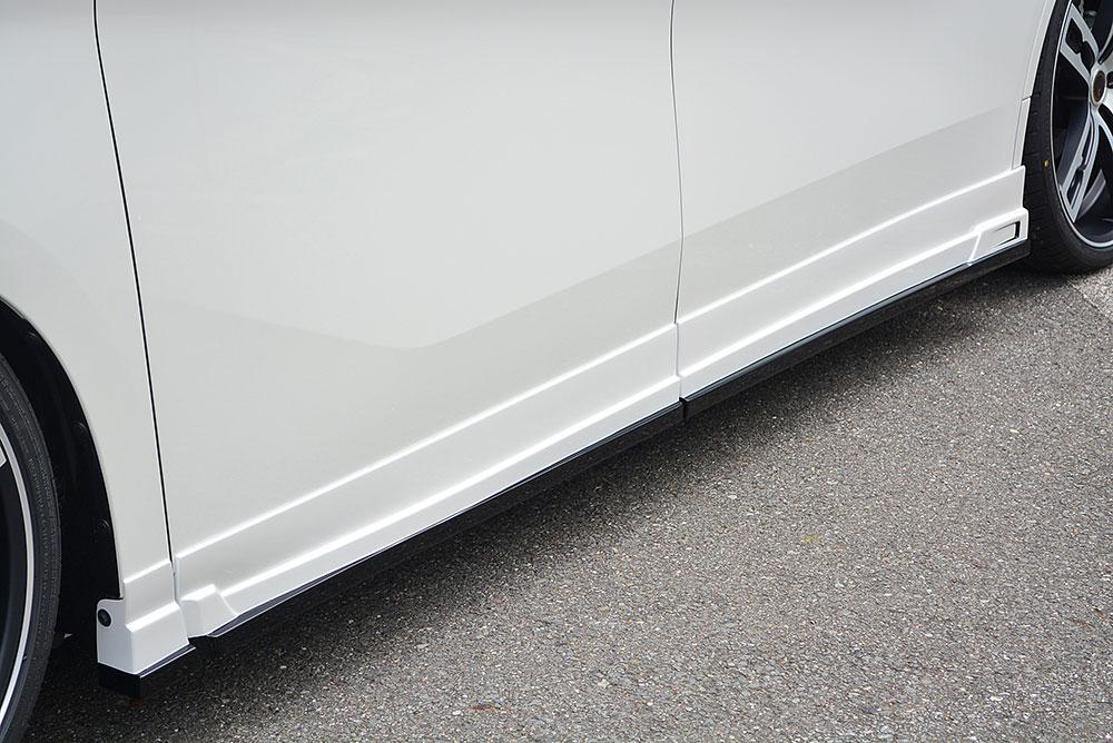 エムズスピード アルファード アルファードハイブリッド 30系 後期 サイドステップ 未塗装 3042-2111 グレースライン ゼウス