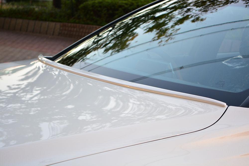 エムズスピード クラウン GWS224 AZSH2# ARS220 ボンネットスポイラー 単色塗装済み 6482-7211-202 プルシャンブルー ゼウス