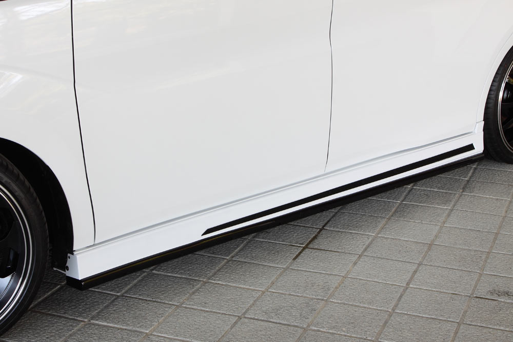 エムズスピード ステップワゴン スパーダ RP3 RP4 前期 サイドステップ 単色塗装済 3123-2111 グレースライン ゼウス