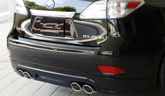エムズスピード レクサス RX450h GYL1#W 前期 リアアンダースポイラー 塗装済 2331-3112-077/2331-3112-212 ラヴライン ゼウス