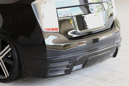 M'z SPEED エムズスピード GLMRSLINE グラマラスライン リアアンダースポイラー 塗装済 プリウス ZVW30