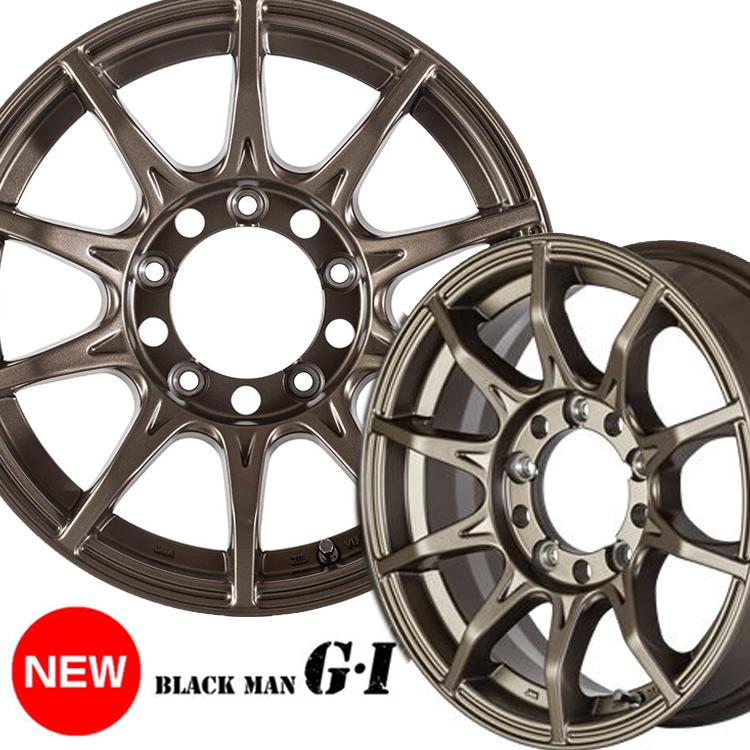16インチ 6.5J+38 6H139.7 6穴 1 本 5次元 ブラックマン G・I ハイエース200系 ホイール 5次元 5ZIGEN BLACK-MAN G・I