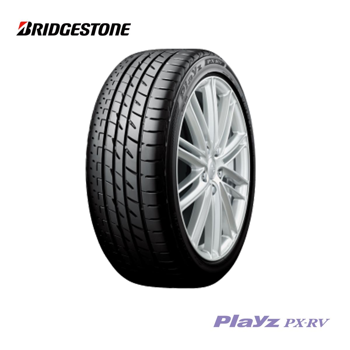 ブリヂストン BS 18インチ タイヤ 235/55R18 235 55 18 100V プレイズ サマー タイヤ 1本 100V 低燃費 エコ 夏 ミニバン BRIDGESTONE Playz PX-RV