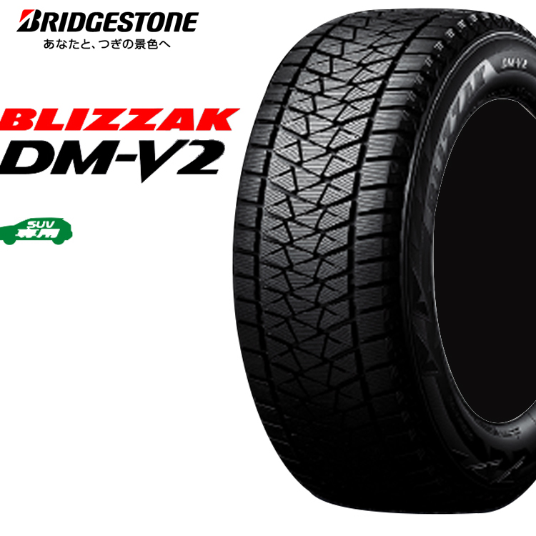 15インチ 195/80R15 96Q 1本 スタッドレス タイヤ BS ブリヂストン ブリザック DM-V2 スタットレスタイヤ チューブレスタイプ BRIDGESTONE BLIZZAK DM-V2