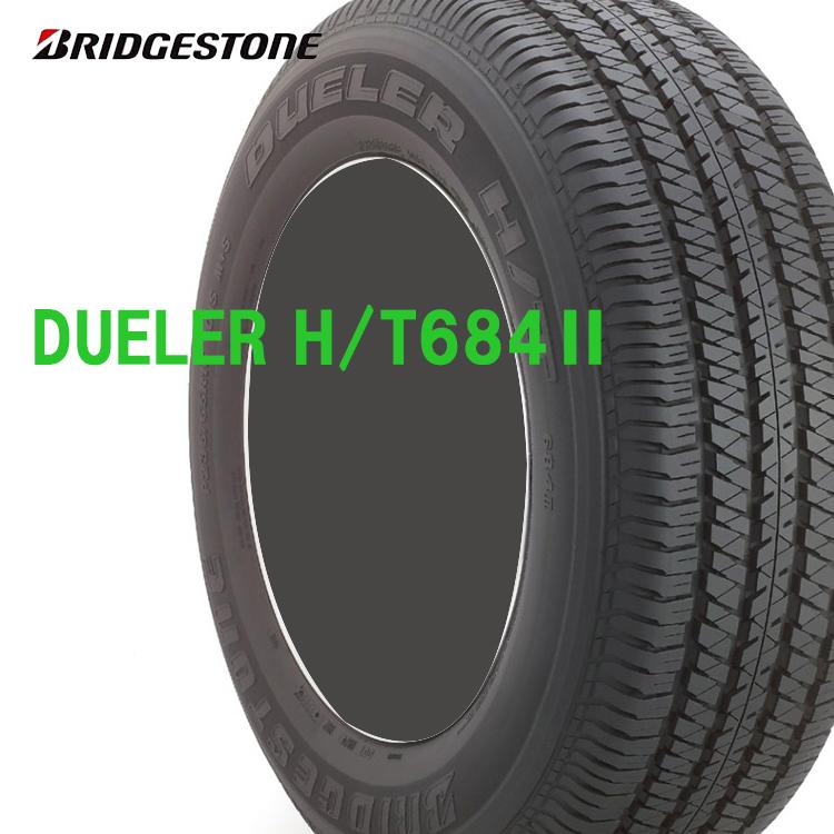 17インチ 265/70R17 115S 4本 夏 サマータイヤ BS ブリヂストン デューラー H/T684-2 チューブレスタイプ BRIDGESTONE DUELER H/T684-2
