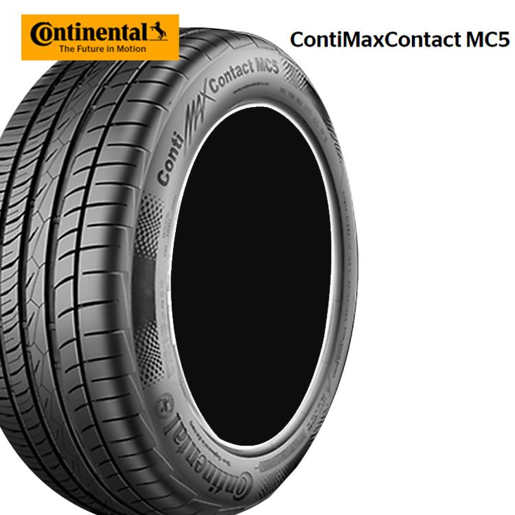 19インチ 4本 1台分セット 225/45R19 96W XL コンチネンタル コンチマックスコンタクトMC5 サマー 夏 タイヤ CONTINENTAL ContiMaxContact MC5 個人宅発送追加金有