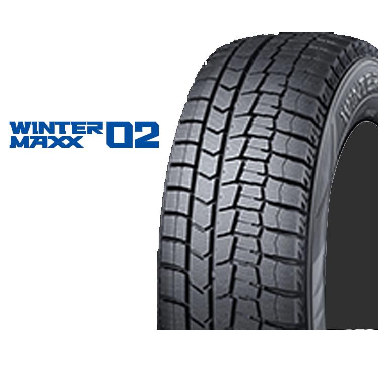 14インチ 165/60R14 75Q 4本 冬 スタッドレスタイヤ ダンロップ ウィンターマックス02 スタットレスタイヤ DUNLOP WINTER MAXX 02