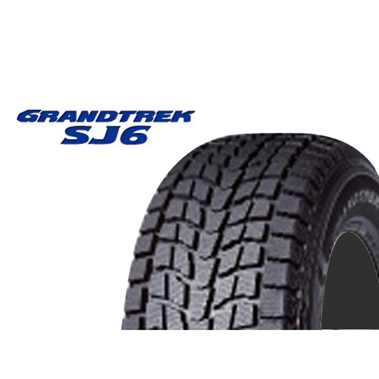 15インチ 215/80R15 109/107L 4本 1台分セット 冬 スタッドレスタイヤ ダンロップ グラントレックSJ6 スタットレスタイヤ DUNLOP GRANDTREK SJ6