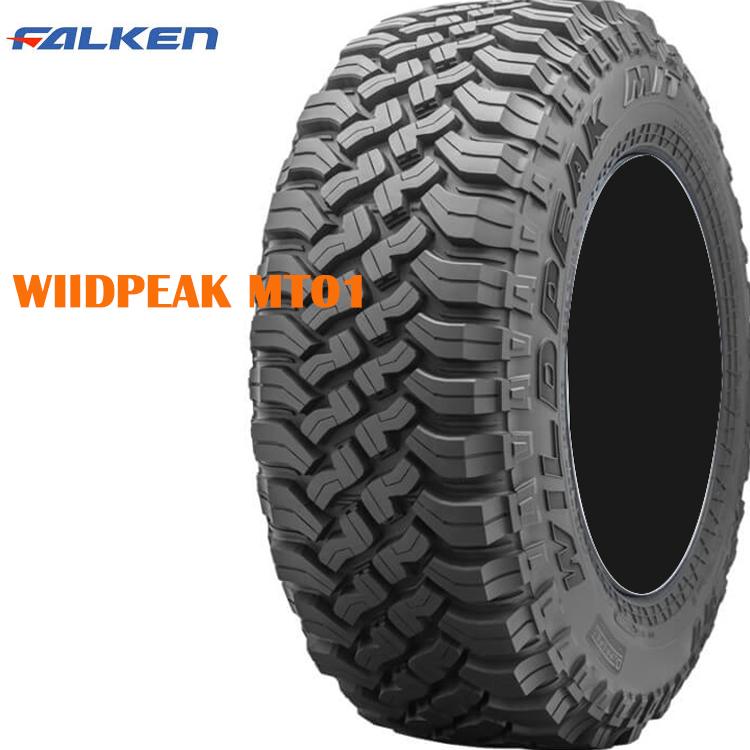 4WD マッドテレーン 夏 サマータイヤ ファルケン 17インチ 1本 LT265/70R17 121/118Q ワイルドピーク MT01 FALKEN WILDPEAK M/T01