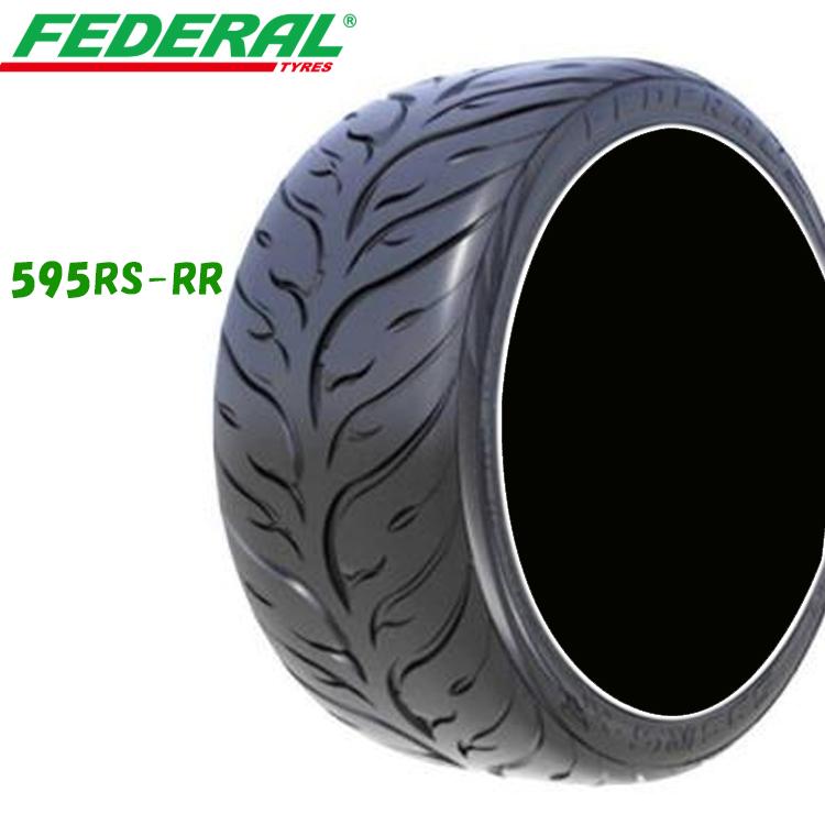 18インチ 265/40ZR18 101W XL 2本 輸入 スポーツタイヤ フェデラル 265/40R18 FEDERAL 595 RS-RR