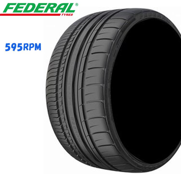 18インチ 265/35ZR18 97Y XL 輸入 タイヤ 4本 1台分セット フェデラル 265/35R18 FEDERAL 595RPM