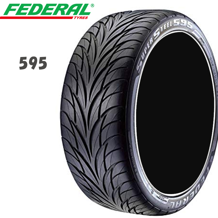 18インチ 225/40ZR18 88W 4本 1台分セット 輸入 タイヤ フェデラル 225/40R18 FEDERAL 595