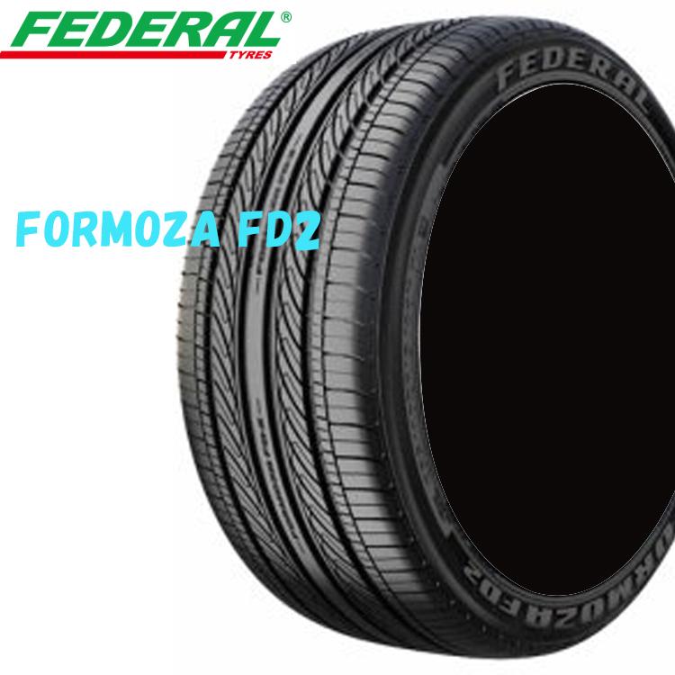 215/60ZR17 96H 17インチ 4本 夏 コンフォートタイヤ フェデラル フォルモザFD2 FEDERAL FORMOZA FD2