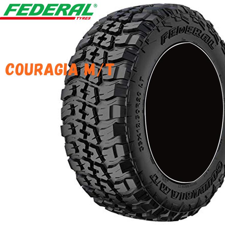 35X12.50/R17 125Q 17インチ 2本 夏 SUV/4WDタイヤ フェデラル クーラジアMT FEDERAL COURAGIA M/T 要在庫確認