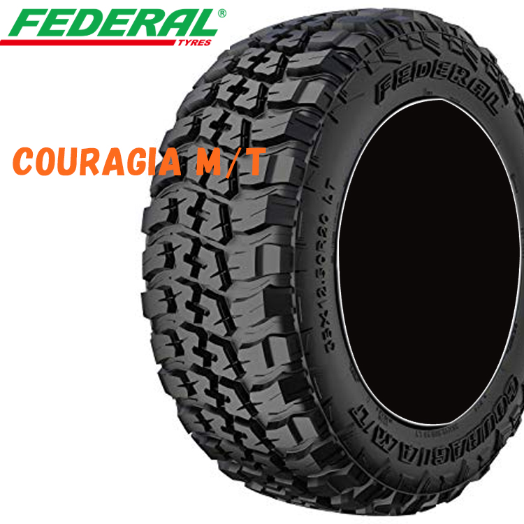 37X12.50/R20 126Q 20インチ 4本 夏 SUV/4WDタイヤ フェデラル クーラジアMT FEDERAL COURAGIA M/T 欠品中 納期未定