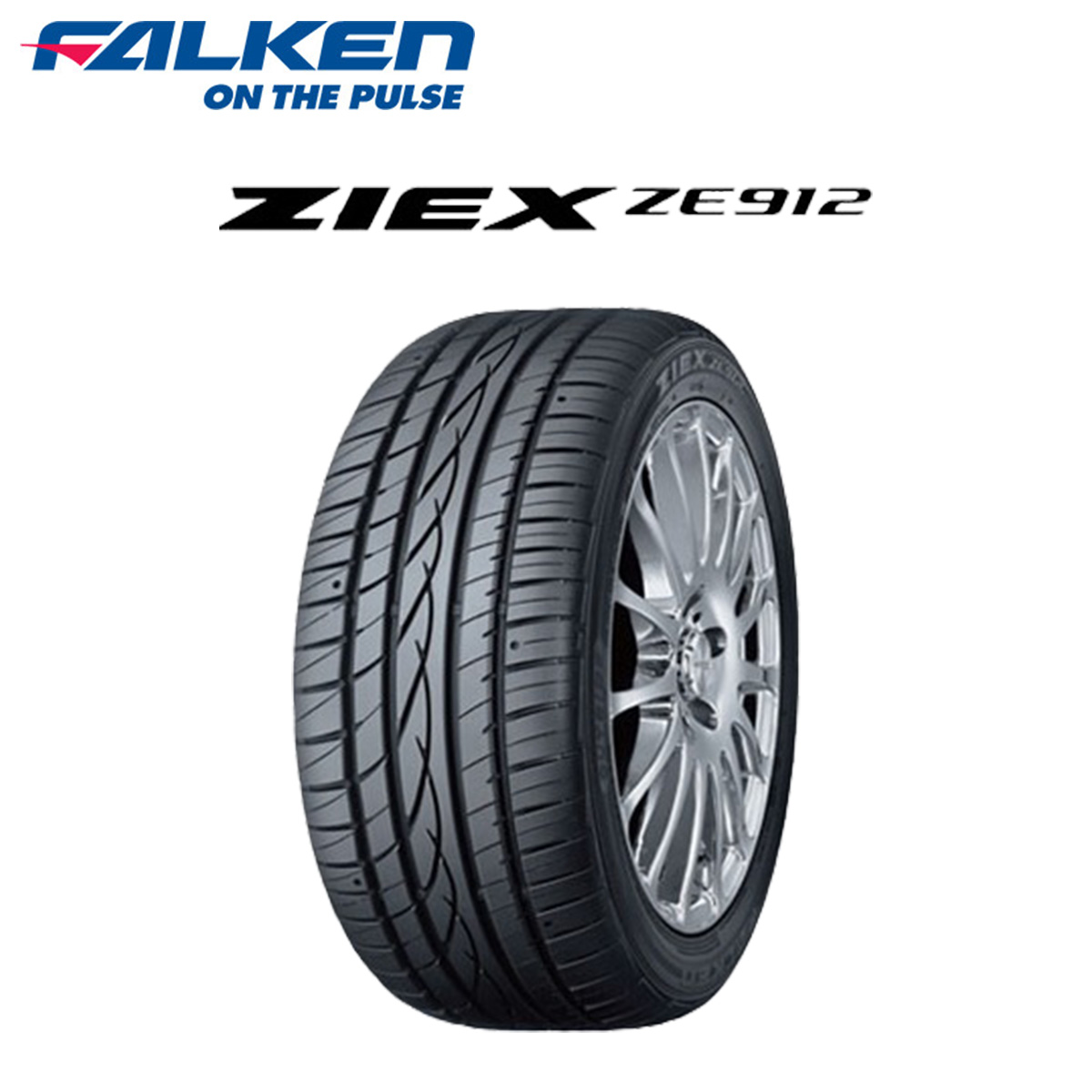 FALKENファンケル低燃費サマータイヤ4本セット14インチ195/60R14ZIEXZE912ジークス