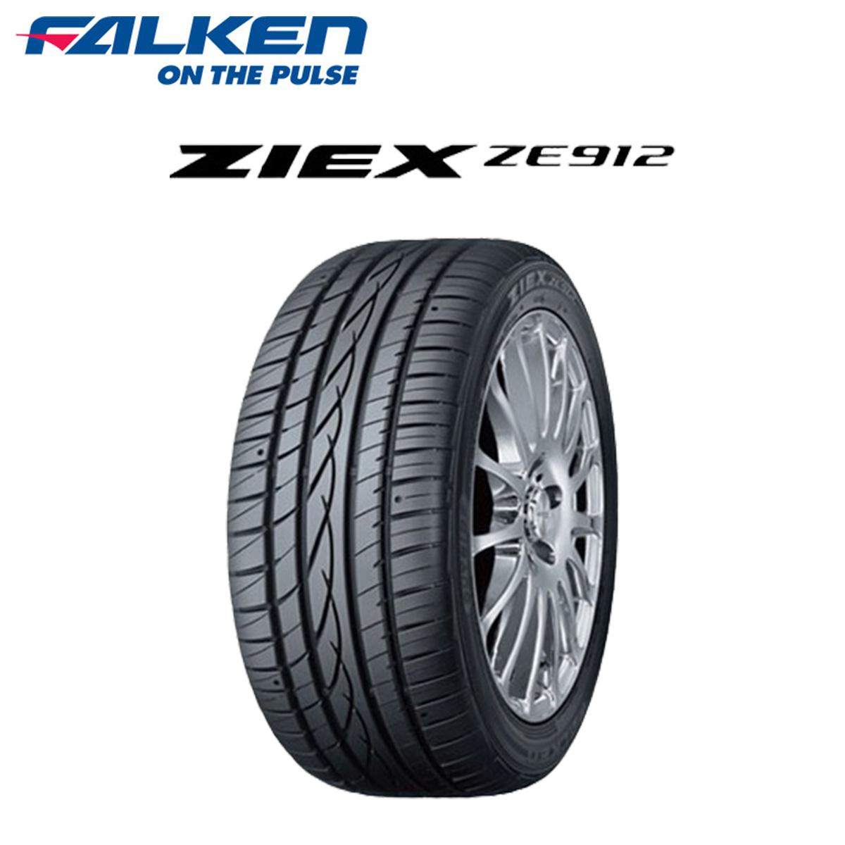 FALKEN ファルケン 低燃費 サマータイヤ 4本 セット 13インチ 155/65R13 ZIEX ZE912 ジークス