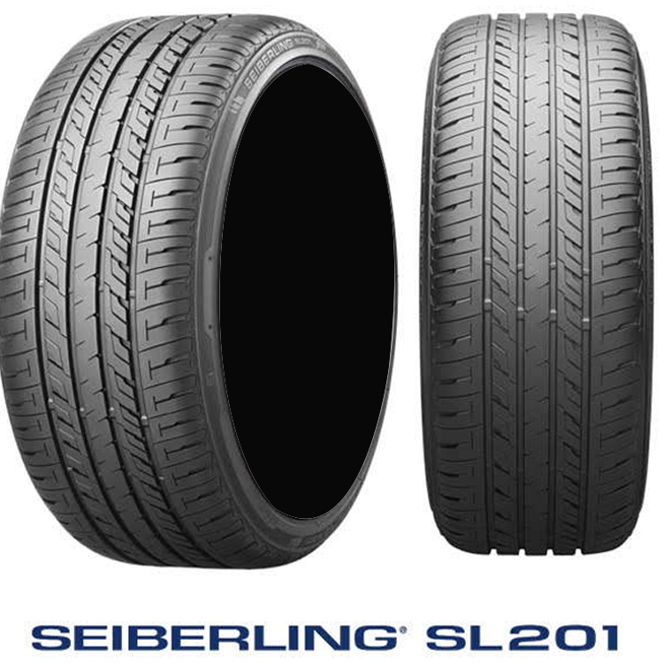 225/55R17 101V XL 17インチ 4本 1台分セット セイバーリング 夏 サマータイヤ ブリヂストン工場製 SEIBERLING SL201
