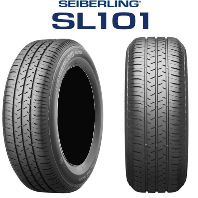 145/80R12 74S 12インチ 4本 1台分セット セイバーリング 夏 サマータイヤ ブリヂストン工場製 SEIBERLING SL101