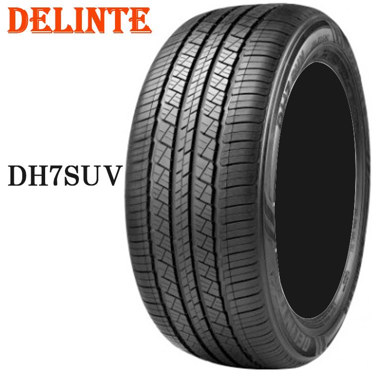 235/60R18 107V XL 1本 タイヤ デリンテ 18インチ DH7 SUV DELINTE DH7 SUV