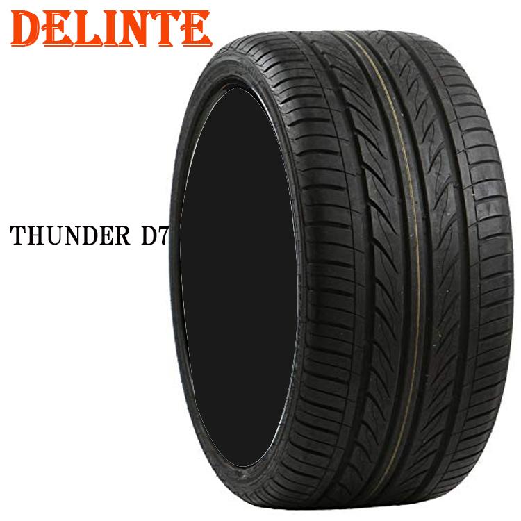 215/35ZR19 85W XL 4本 タイヤ デリンテ 19インチ D7 サンダー DELINTE D7