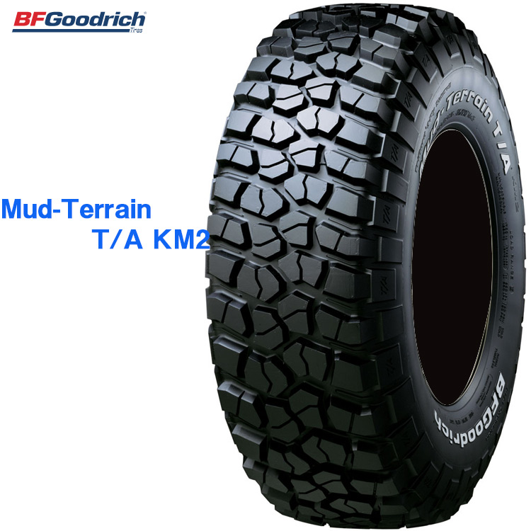 サマータイヤ BFグッドリッチ 17インチ 1本 LT245/70R17 119/116Q LRE マッドテレーン TA KM2 ホワイトレター 707360 BFGoodrich Mud-Terrain T/A KM2