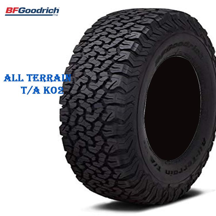 サマータイヤ BFグッドリッチ 17インチ 2本 LT255/70R17 121/118S LRE オールテレーン TA KO2 ブラックレター 707240 BFGoodrich All-Terrain T/A KO2