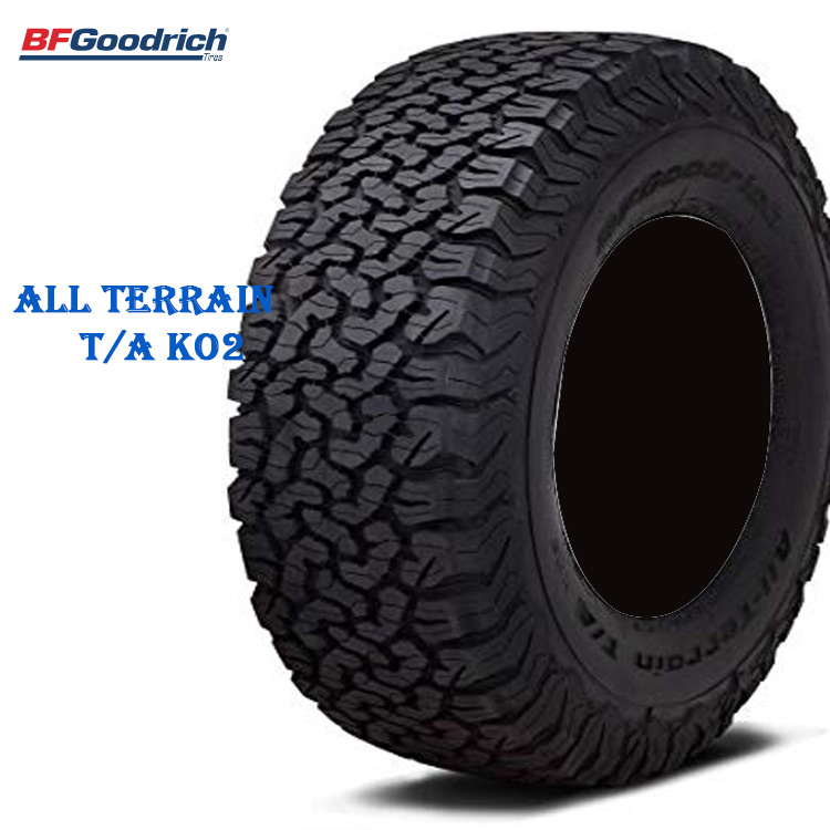サマータイヤ BFグッドリッチ 20インチ 4本 LT275/65R20 126/123S LRE オールテレーン TA KO2 ブラックレター 707140 BFGoodrich All-Terrain T/A KO2