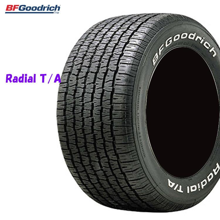 夏 サマータイヤ BFグッドリッチ 14インチ 4本 P235/60R14 96S ラジアル TA ホワイトレター 854550 BFGoodrich RADIAL T/A 個人宅発送追加金有