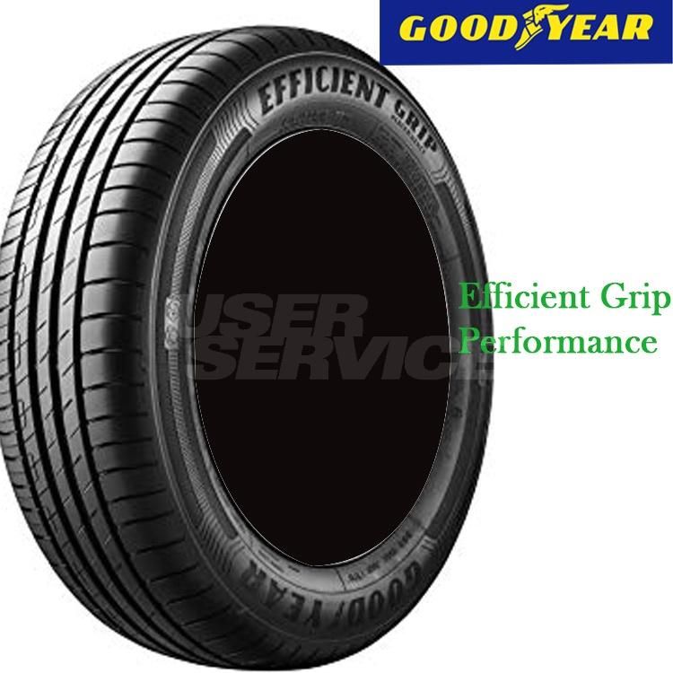夏 低燃費タイヤ グッドイヤー 17インチ 4本 225/45R17 94W XL エフィシエントグリップ パフォーマンス 05622136 GOODYEAR EfficientGrip performance