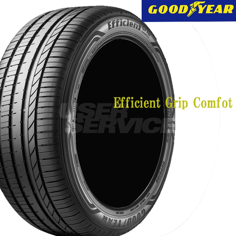 夏 サマー 低燃費タイヤ グッドイヤー 17インチ 2本 225/45R17 94W XL エフィシエントグリップ コンフォート 05603752 GOODYEAR EfficientGrip Comfort