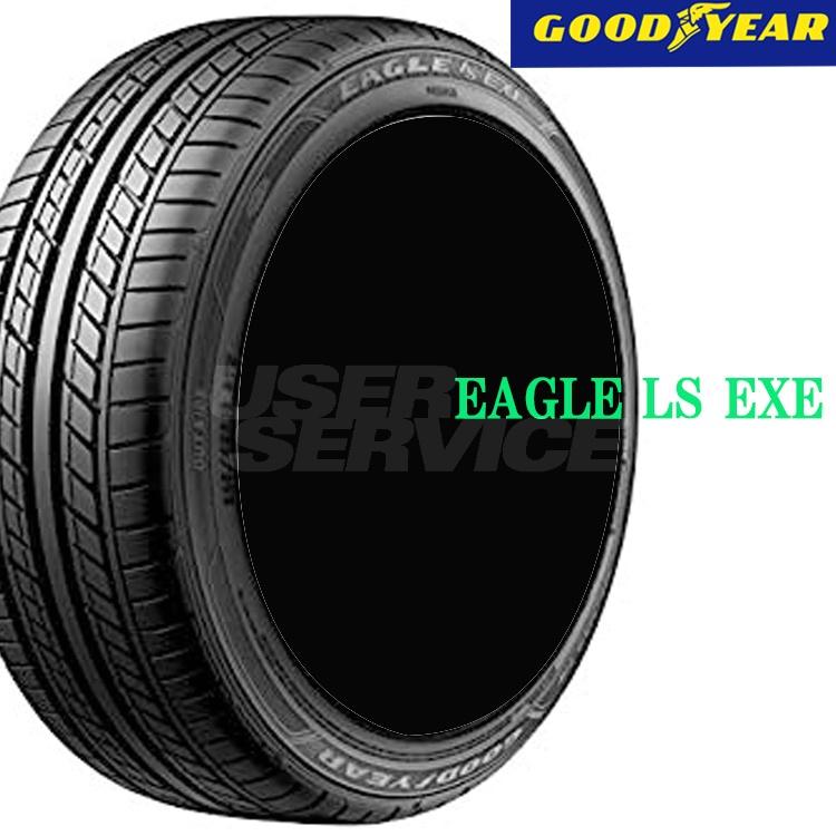 夏 サマー 低燃費タイヤ グッドイヤー 18インチ 4本 245/45R18 100W XL イーグル エルエス エグゼ 05602892 GOODYEAR EAGLE LS EXE