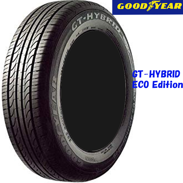 タイヤ グッドイヤー 14インチ 2本 195/70R14 91S GTハイブリッド エコエディション 05500522 GOODYEAR GT-HYBRID ECO Edition