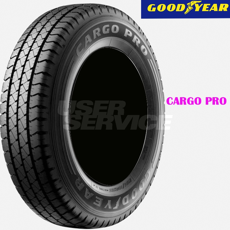 夏 サマータイヤ グッドイヤー 14インチ 4本 175R14 8PR カーゴプロ 10A00146 GOODYEAR CARGO PRO